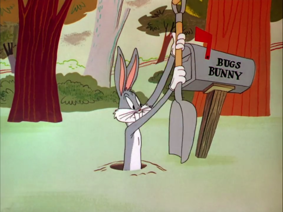 Looney Tunes - devil may hare